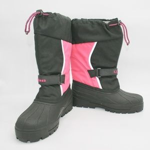 Girls L.L. Bean Northwoods Insulated Snow Boots